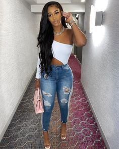 Lace front human hair wigs - Lace front human hair wigs Source by Juliatalyerhair - Sexy Outfits, Cute Swag Outfits, Dressy Outfits, Chic Outfits, Fashion Outfits, Bbq Outfits, Miami Outfits, Swag Fashion, Cowgirl Outfits
