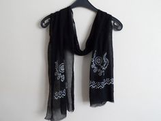 Cotton Mens Scarves Womens Scarves Unisex Scarf by fizzaccessory, $20.00