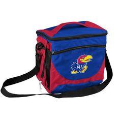 Kansas Jayhawks KU Cooler 24 Can Bag