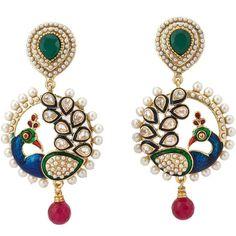 Earrings-designs-10-peacock-earrings