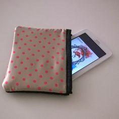 Porta #Tablet #Polka #Dot e #Jeans
