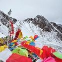 Tibetan prayer flags on top of Shola Pass • View on Flickr