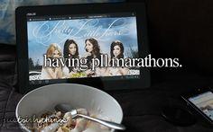 Having a pll marathon