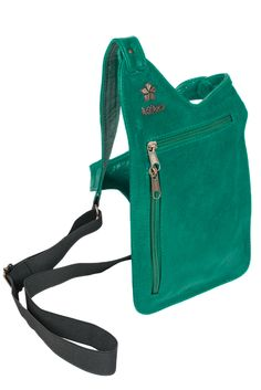 Mint color Baliloca Handsfree bag purse
