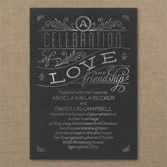 Grand Celebration - Classic Invitation - Choose Your Color - Wedding Invitations - Wedding Invites - Wedding Invitation Ideas - View a Proof Online - #weddings #wedding #invitations
