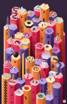 Hexagoland on Behance