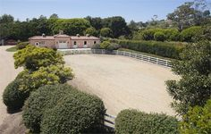 Hope Ranch stable and outdoor arena