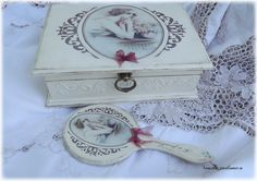 vintage kutija za nakit