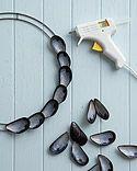 Mussel Shell Wreath - Martha Stewart Crafts