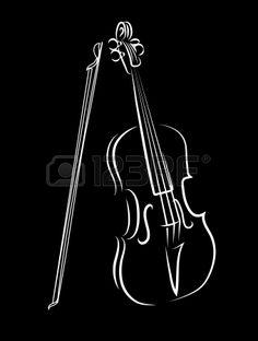 violín Foto de archivo