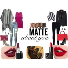 """Inspiration Matte"" by koum-anastasia on Polyvore"