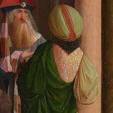 The Holy Kinship (detail), 1495, by workshop of Geertgen tot Sint Jans (Dutch, 1465-95)