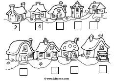 Number - Odd and Even House Numbers Math Numbers, House Numbers, Second Grade Math, Play To Learn, Math Worksheets, Classroom Activities, Math Games, Early Learning, Teaching Math