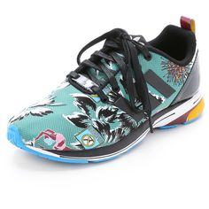 adidas Originals by Mary Katrantzou MK ZX Flux Tech Jogger Sneakers  (1.886.215 IDR