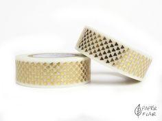 Washi Tape Foil Dreiecke.. Paperflair.de