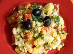 Retete Rina's 90, Retete de peste tot adunate: Salata de boeuf ( falsa ) Veg Recipes, Potato Recipes, Cooking Recipes, Healthy Recipes, Cooking Food, Raw Vegan, Vegan Vegetarian, Vegetarian Recipes, Rina Diet