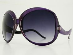 Retro Oversized Womens Sunglasses O034 Purple