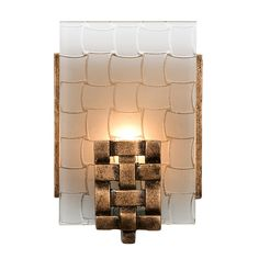 Found it at AllModern - Dreamweaver 1 Light Recycled Wall sconce
