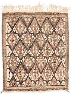 Kelim  Vintage Teppich Original Konya