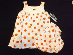 Toddler/Infant Girls Texas Longhorns Dress/outfit, size 24 months, | eBay