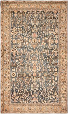 Antique Persian Malayer Rug 46838 Detail/Large View - By Nazmiyal