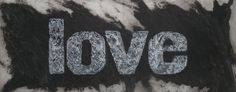 Black Love, carborundum, 140x80 cm
