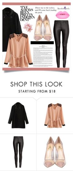 """Bhalo #25/2"" by almedina-86 ❤ liked on Polyvore featuring H&M, Semilla, Lime Crime, women's clothing, women, female, woman, misses, juniors and bhalo"
