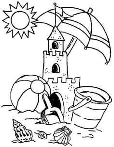 abandoned sand castle coloring page free printable coloring