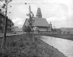 1935,De Statensingel met de Prinsekerk op de achtergrond.