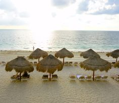 Excellence Riviera Cancun beach