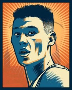 Brute! created this awesome new poster of Jeremy Lin. Always been a fan of Brute, and this poster is just awesome!