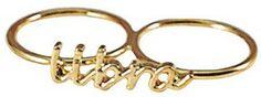 Libra Knuckle Ring #Zodiac