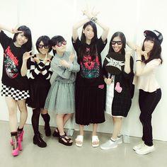 """三吉彩花 @miyoshi.aa's photo: """"We love BABYMETAL!!! They're the best artist #幕張メッセ #BABYMETAL #さくら学院卒業生 #こうやって会えるのは嬉しいです"""""""