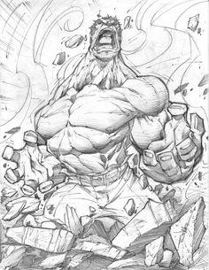 Hulk pencil