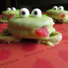 Oreo Frogs @keyingredient #chocolate