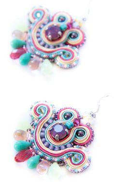 Mini Earrings - Dissident Sheep Unique Jewelry   www.dissidentsheep.com