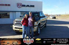 #HappyAnniversary to Karl Halcomb on your 2013 #Ram #2500 from Tracey Frerich at Four Stars Auto Ranch!