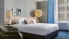 Kimpton Gray Hotel king guestroom