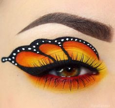 Pin By Arthur Laibly On Eyes In 2019 Butterfly Makeup, Creative . - Pin by Arthur Laibly on Eyes in 2019 Butterfly makeup, Creative makeup ideas cool – Makeup Ideas Eye Makeup Art, Colorful Eye Makeup, Eye Art, Eyeshadow Makeup, Fairy Makeup, Mermaid Makeup, Cool Makeup Looks, Halloween Makeup Looks, Crazy Makeup
