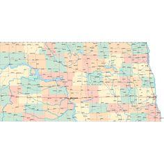Scalable online Kansas road map and regional printable road maps of Kansas. Highway Map, Kansas Map, Travel Activities, State Map, North Dakota, Road Maps, Bucket, Cricut, Motivation