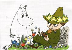 Moomin & Snufkin