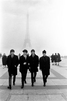 The Beatles.   Paris, 1964.