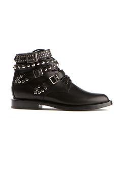 fad8dd59c5 Saint Laurent Ankle boots    Saint Laurent black leather booties