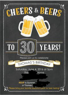 Beer Bash Birthday Party Ideas   Photo 1 of 11