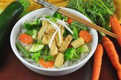 Vegetarian Pacific Thai Noodle Soup