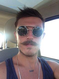 #me #mustache #summer