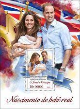 St Thomas - Prince George, Royal Baby - Stamp Souvenir Sheet ST13301b