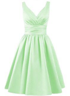 BARDOT Dress - Peppermint Green