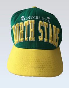 12a9e50a677 Minnesota North Stars Zephyr Hat Cap Embroidered Snap Back Hockey NHL