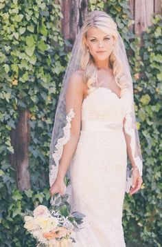 Hey, I found this really awesome Etsy listing at https://www.etsy.com/listing/216019160/single-tier-lace-veil